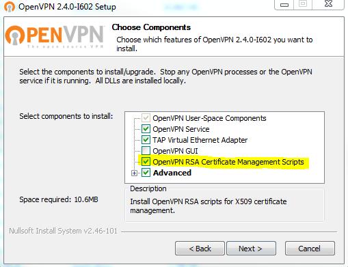 Openvpn запуск как сервис