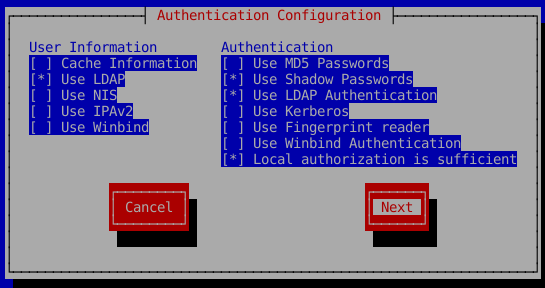 Set up LDAP Authentication with nslcd on CentOS 7 | Lisenet